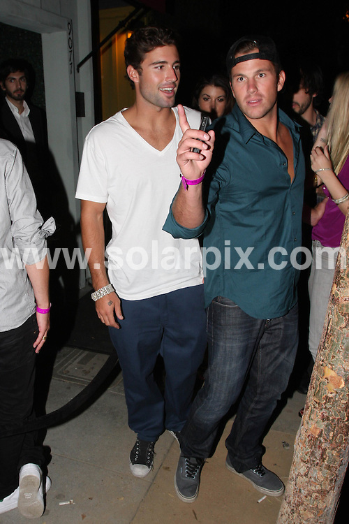 **ALL ROUND PICTURES FROM SOLARPIX.COM**.**WORLDWIDE SYNDICATION RIGHTS**.**NO PUBLICATION IN AUSTRALIA, DENMARK, GERMANY, NEW ZEALAND, OR USA**.Brody Jenner and friends leaving Foxtail Lounge in West Hollywood after a long night of partying, California, USA. 28th August 2008..This pic: Brody Jenner..JOB REF: 7173 LAP (TM)      DATE: 28_08_2008.**MUST CREDIT SOLARPIX.COM OR DOUBLE FEE WILL BE CHARGED* *UNDER NO CIRCUMSTANCES IS THIS IMAGE TO BE REPRODUCED FOR ANY ONLINE EDITION WITHOUT PRIOR PERMISSION*