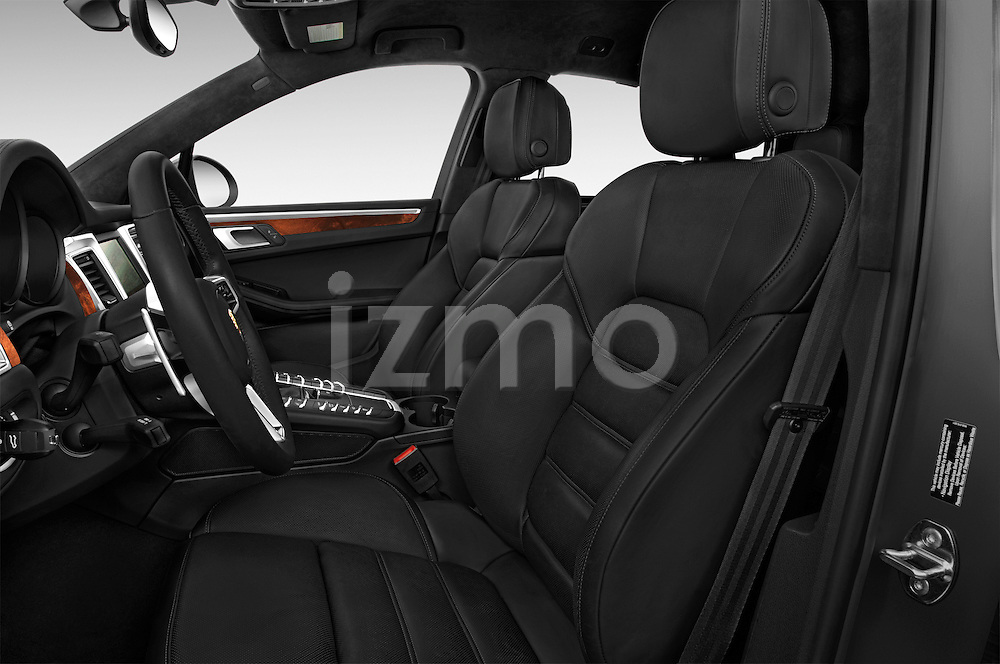 Front seat view of a 2015 Porsche Macan Turbo 5 Door SUV front seat car photos