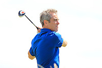 Jimmy Nesbitt (AM) on the 6th during the Pro-Am of the Irish Open at LaHinch Golf Club, LaHinch, Co. Clare on Wednesday 3rd July 2019.<br /> Picture:  Thos Caffrey / Golffile<br /> <br /> All photos usage must carry mandatory copyright credit (© Golffile | Thos Caffrey)