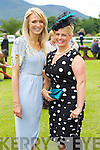 Pictured at Killarney Races Ladies Day on Thursday, from left: Caragh Moloney (Tralee Road, Killarney) and Siobhan Quinlan (Ross Road).