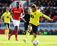Blackburn Rovers' Bradley Dack in action<br /> <br /> Photographer David Shipman/CameraSport<br /> <br /> The EFL Sky Bet Championship - Nottingham Forest v Blackburn Rovers - Saturday 13th April 2019 - The City Ground - Nottingham<br /> <br /> World Copyright © 2019 CameraSport. All rights reserved. 43 Linden Ave. Countesthorpe. Leicester. England. LE8 5PG - Tel: +44 (0) 116 277 4147 - admin@camerasport.com - www.camerasport.com