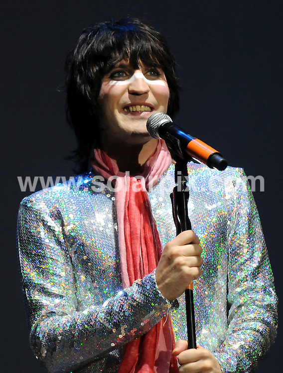 **ALL ROUND PICTURES FROM SOLARPIX.COM**.**WORLDWIDE SYNDICATION RIGHTS**.Noel Fielding and Julian Barratt perform live on stage with as The Boosh band during The Mighty Boosh Festival at The Hop Farm on July 5, 2008 in Paddock Wood, Kent, UK. 30,000 people attended the one day comedy and music festival...JOB REF: 6780 SSD     DATE: 07_07_2008.**MUST CREDIT SOLARPIX.COM OR DOUBLE FEE WILL BE CHARGED* *UNDER NO CIRCUMSTANCES IS THIS IMAGE TO BE REPRODUCED FOR ANY ONLINE EDITION WITHOUT PRIOR PERMISSION*