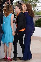"Suzanne Clement, Xavier Dolan and Monia Chokri attending the ""Laurence Anyways"" Photocall during the 65th annual International Cannes Film Festival in Cannes, France, 19th May 2012...Credit: Timm/face to face /MediaPunch Inc. ***FOR USA ONLY***"