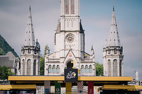 cycling is a religion... especially when the race start is in Lourdes<br /> <br /> Stage 19: Lourdes &gt; Laruns (200km)<br /> <br /> 105th Tour de France 2018<br /> &copy;kramon