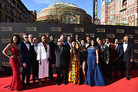 Dreamgirls cast at The Olivier Awards 2017 at the Royal Albert Hall, London, UK. <br /> 09 April  2017<br /> Picture: Steve Vas/Featureflash/SilverHub 0208 004 5359 sales@silverhubmedia.com
