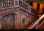 Cosmatesque Stairway Chapel of the Nativity Oratory Marble from Septizodium of Septimius Severus Domenico Fontana Sistine Chapel Santa Maria Maggiore Rome