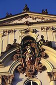 Prague, Czech Republic; detail of the Archbishop's Palace in the castle precinct.