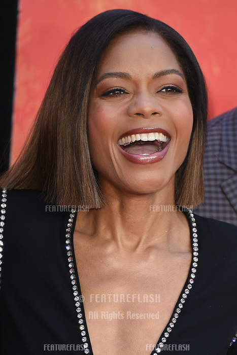 Naomie Harris arriving for the &quot;Rampage&quot; premiere at the Cineworld Empire Leicester Square, London, UK. <br /> 11 April  2018<br /> Picture: Steve Vas/Featureflash/SilverHub 0208 004 5359 sales@silverhubmedia.com