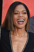 """Naomie Harris arriving for the """"Rampage"""" premiere at the Cineworld Empire Leicester Square, London, UK. <br /> 11 April  2018<br /> Picture: Steve Vas/Featureflash/SilverHub 0208 004 5359 sales@silverhubmedia.com"""