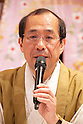 "April 24, 2013, Tokyo, Japan - The Mayor of Kyoto, Daisaku Kadokawa at ""Kyoto international Manga Anime Fair 2013"" press conference in Kabukiza Tower, Tokyo. In the press conference the organizers of KYOMAF, Mayor of Kyoto and Japan EXPO (in France) signed a document to collaborate together to promote the anime and manga culture in Europe and United States. The KYOMAF is the largest manga/anime fair in West Japan and will be free entrance for elementary school students and foreigners with passport. It will be held from September 6 to 8 at Miyako Messe, Kyoto. (Photo by Rodrigo Reyes Marin/AFLO).."