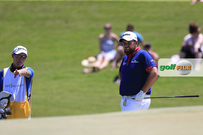 Shane Lowry (IRL) during round 3 of the Players, TPC Sawgrass, Championship Way, Ponte Vedra Beach, FL 32082, USA. 14/05/2016.<br /> Picture: Golffile | Fran Caffrey<br /> <br /> <br /> All photo usage must carry mandatory copyright credit (&copy; Golffile | Fran Caffrey)