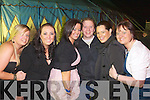 Pictured at the Big tent Spirals Reunion at Fels Point on Saturday night were from left Sandra Bunyan, Melenie Cruise, Shivaun O'Shea, Simon Cruise, Eimear Flaherty and Pamela Teahan.