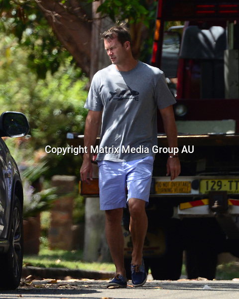 20 NOVEMBER 2012 SYDNEY AUSTRALIA<br /> <br /> EXCLUSIVE PICTURES<br /> <br /> Tom Williams and fiance Rachael Gilbert pictured at home making preparations for their upcoming nuptials