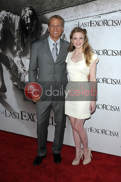 """Patrick Fabian, Ashley Bell<br /> at a Special Screening of """"The Last Exorcism,"""" Arclight Theater, Hollywood, CA. 08-24-10<br /> David Edwards/Dailyceleb.com 818-249-4998"""