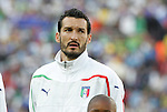 24 JUN 2010: Gianluca Zambrotta (ITA). The Slovakia National Team defeated the Italy National Team 3-2 at Ellis Park Stadium in Johannesburg, South Africa in a 2010 FIFA World Cup Group F match.