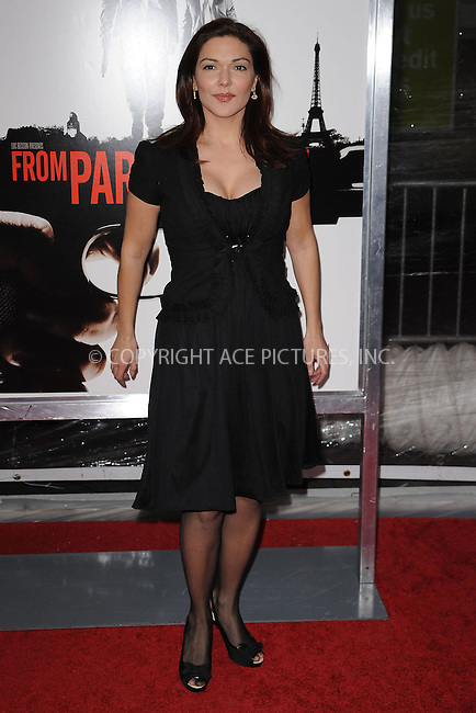 WWW.ACEPIXS.COM . . . . . ....January 28 2010, New York City....Laura Harring arriving at the 'From Paris With Love' premiere at the Ziegfeld Theatre on January 28, 2010 in New York City. ....Please byline: KRISTIN CALLAHAN - ACEPIXS.COM.. . . . . . ..Ace Pictures, Inc:  ..(212) 243-8787 or (646) 679 0430..e-mail: picturedesk@acepixs.com..web: http://www.acepixs.com