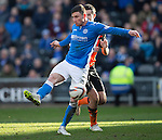 Dundee United v St Johnstone.....21.02.15<br /> Michael O'Halloran scores his second goal<br /> Picture by Graeme Hart.<br /> Copyright Perthshire Picture Agency<br /> Tel: 01738 623350  Mobile: 07990 594431