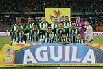 Atlético Nacional igualó como local 1-1 ante Santa Fe. Semifinal ida Copa Águila 2016.