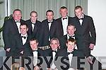 HUNTSMEN: Attending the Kerry Farmers Hunt Club gala ball were front l-r: Fergus O'Connor (Scartaglin), Stephen Gamble (Killorglin), Billy Fleming (Kilcummin), Anthony Naughton and Florence Brosnan (Killorglin). Back l-r: Hugh Dwyer and James Flynn (Killorglin), David O'Donoghue, Fred and Timmy O'Connor (Scartaglin).   Copyright Kerry's Eye 2008