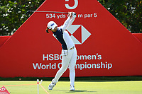 SINGAPORE - MARCH 03: Jin Young Ko of South Korea on the 5th tee during the final round of the HSBC Women's World Championship 2019 at Sentosa Golf Club - Tanjong Course, Singapore on March 03, 2019.<br /> .<br /> .<br /> .<br /> (Photo by: Naratip Golf Srisupab/SEALs Sports Images)<br /> .<br /> Any image use must include a mandatory credit line adjacent to the content which should read: Naratip Golf Srisupab/SEALs Sports Images