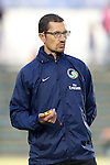 20 September 2014: Cosmos fitness coach Simone Lucchesi. The Carolina RailHawks played the New York Cosmos at WakeMed Stadium in Cary, North Carolina in a 2014 North American Soccer League Fall Season match. Carolina won the game 5-4.