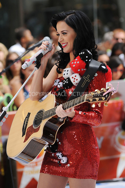 WWW.ACEPIXS.COM . . . . . ....July 24 2009, New York City....Singer Katy Perry performed on NBC's 'Today show' at the Rockerfeller Plaza on July 24 2009 in New York City....Please byline: KRISTIN CALLAHAN - ACEPIXS.COM.. . . . . . ..Ace Pictures, Inc:  ..tel: (212) 243 8787 or (646) 769 0430..e-mail: info@acepixs.com..web: http://www.acepixs.com