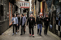 DCM charity gig performers photoshoot in Wellington, New Zealand on Friday, 13 October 2017. Photo: Dave Lintott / lintottphoto.co.nz