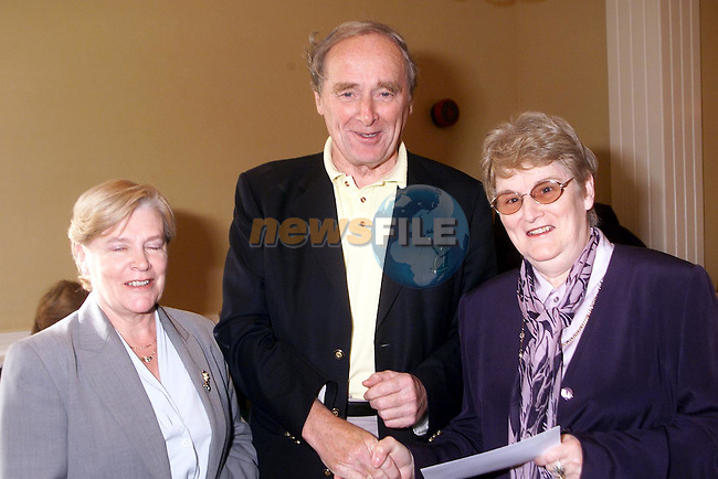 Carmel Haughey, Joe Moran CBAI and Tess Dunleavy..Picture Paul Mohan Newsfile..Camera:   DCS620C.Serial #: K620C-00788.Width:    1728.Height:   1152.Date:  8/10/00.Time:   0:14:37.DCS6XX Image.FW Ver:   3.0.9.TIFF Image.Look:   Product.Sharpening Requested: No.Tagged.Counter:    [21425].Shutter:  1/60.Aperture:  f5.6.ISO Speed:  400.Max Aperture:  f3.5.Min Aperture:  f22.Focal Length:  24.Exposure Mode:  Manual (M).Meter Mode:  Color Matrix.Drive Mode:  Continuous High (CH).Focus Mode:  Single (AF-S).Focus Point:  Center.Flash Mode:  Normal Sync.Compensation:  +0.0.Flash Compensation:  +0.0.Self Timer Time:  10s.White balance: Preset (Flash).Time: 00:14:37.126.