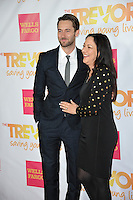 Ryan Eggold &amp; mother at the 2014 TrevorLIVE Los Angeles Gala at the Hollywood Palladium.<br /> December 7, 2014  Los Angeles, CA<br /> Picture: Paul Smith / Featureflash