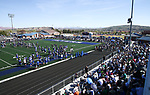 2BLU4403<br /> <br /> The BYU Football Team holds a public practice and Fan Fest at Dixie High School in St. George, Utah.<br /> <br /> 2017 BYU Football - Spring Practice March 17, 2017<br /> <br /> March 17, 2017<br /> <br /> Photo by Jaren Wilkey/BYU<br /> <br /> &copy; BYU PHOTO 2017<br /> All Rights Reserved<br /> photo@byu.edu  (801)422-7322