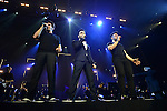 CORAL GABLES, FL - MARCH 05: Piero Barone, Gianluca Ginoble and Ignazio Boschetto of IL Volvo performs at Bank United Center on Saturday March 05, 2016 in Miami, Florida. ( Photo by Johnny Louis / jlnphotography.com )