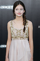 HOLLYWOOD, LOS ANGELES, CA, USA - OCTOBER 26: Mackenzie Foy arrives at the Los Angeles Premiere Of Paramount Pictures' 'Interstellar' held at the TCL Chinese Theatre on October 26, 2014 in Hollywood, Los Angeles, California, United States. (Photo by Celebrity Monitor)