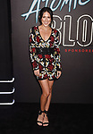 LOS ANGELES, CA - JULY 24:   Social influencer Joslyn Davis arrives at the Premiere Of Focus Features' 'Atomic Blonde' at The Theatre at Ace Hotel on July 24, 2017 in Los Angeles, California.