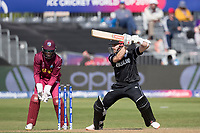 Kane Williamson (New Zealand) cuts through point during West Indies vs New Zealand, ICC World Cup Warm-Up Match Cricket at the Bristol County Ground on 28th May 2019