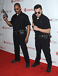 Damon Wayans Jr. and Jake Johnson at the 20th Century FOX CinemaCon 2014 arrivals held at Caesars Palace Hotel in Las Vegas Nevada on March 27, 2014.