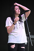 POMPANO BEACH FL - MAY 28: K. Flay performs during the Undertow Jam at The Pompano Beach Amphitheater on May 28, 2017 in Pompano Beach, Florida. Photo by Larry Marano © 2017