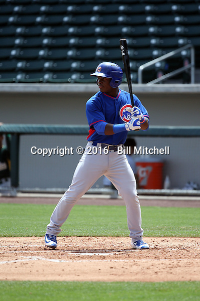 Yonathan Perlaza / Jonathan Perlaza - Chicago Cubs 2016 extended spring training (Bill Mitchell)