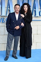 Andy Garcia &amp; Cher arriving for the &quot;Mama Mia! Here We Go Again&quot; world premiere at the Eventim Apollo, Hammersmith, London, UK. <br /> 16 July  2018<br /> Picture: Steve Vas/Featureflash/SilverHub 0208 004 5359 sales@silverhubmedia.com