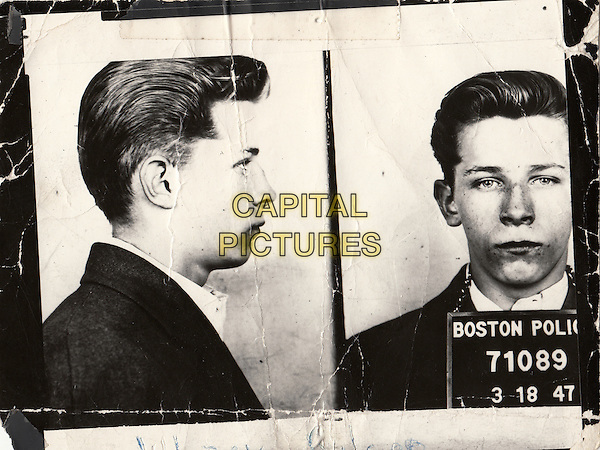 Mugshot of James &quot;Whitey&quot; Bulger. Boston Police Department<br /> in Whitey: United States of America v. James J. Bulger (2014) <br /> *Filmstill - Editorial Use Only*<br /> CAP/NFS<br /> Image supplied by Capital Pictures