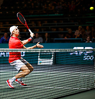 Rotterdam, The Netherlands, 11 Februari 2020, ABNAMRO World Tennis Tournament, Ahoy, <br /> Denis Shapovalov (CAN).<br /> Photo: www.tennisimages.com