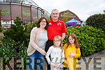 Enjoying the Ballyseedy Garden Centre Family Fun Weekend, in aid of Down Syndrome Kerry on Saturday were Michelle Maloney, Sarah Maloney, Emer Maloney and Michael Maloney