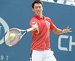 Kei Nishikori (JPN) defeats Stan Wawrinka (SUI) 3-6, 7-5, 7-6, 6-7, 6-4