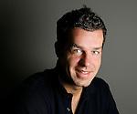 Nederland, Capelle a/d Ijssel, 3 juli 2008 .Bart Vlietstra, verslaggever bij Sportweek