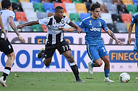 Paulo Dybala of Juventus and Marvin Zeegelaar of Udinese<br /> during the Serie A football match between Udinese Calcio and Juventus FC at Friuli stadium in Udine <br />  (Italy), July 23th, 2020. Play resumes behind closed doors following the outbreak of the coronavirus disease. Photo Federico Tardito / Insidefoto