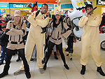 The Ghostbusters team at the Halloween celebrations at Drogheda Town Centre. Photo:Colin Bell/pressphotos.ie