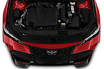 Car Stock 2020 Toyota Avalon TRD 4 Door Sedan Engine  high angle detail view