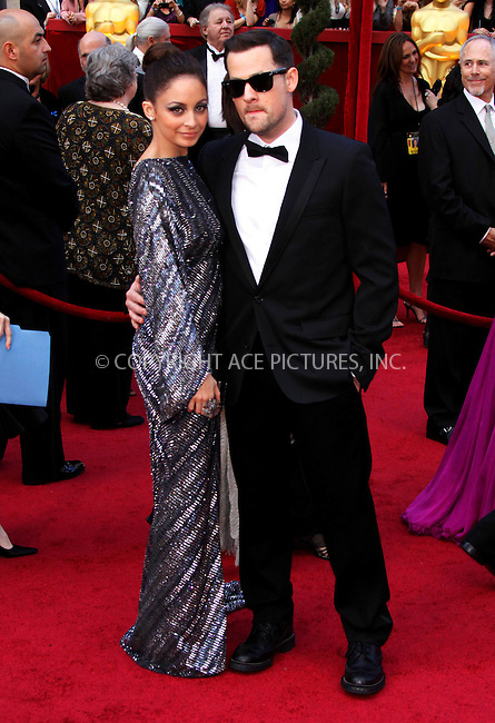 WWW.ACEPIXS.COM . . . . .  ....March 7 2010, Hollywood, CA....Nicole Cruz and Joel Madden at the 82nd Annual Academy Awards held at Kodak Theatre on March 7, 2010 in Hollywood, California.....Please byline: Z10-ACE PICTURES... . . . .  ....Ace Pictures, Inc:  ..Tel: (212) 243-8787..e-mail: info@acepixs.com..web: http://www.acepixs.com