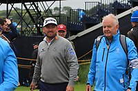 Graeme McDowell (NIR) on the 13th during the preview of the the 148th Open Championship, Portrush golf club, Portrush, Antrim, Northern Ireland. 17/07/2019.<br /> Picture Thos Caffrey / Golffile.ie<br /> <br /> All photo usage must carry mandatory copyright credit (© Golffile | Thos Caffrey)