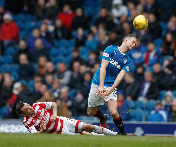 Clint Hill clears