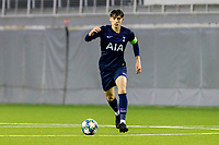 6th November 2019; Vozdovac Stadium, Belgrade, Serbia; UEFA Under 19 UEFA Youth league football, FK Crvena Zvezda under 19s versus Tottenham Hotspur under 19s; Jamie Bowden of Tottenham Hotspurs FC comes forward on the ball